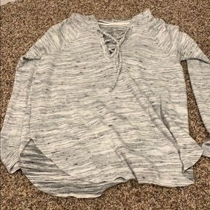 "American Eagle ""SOFT & SEXY"" hooded long sleeve"